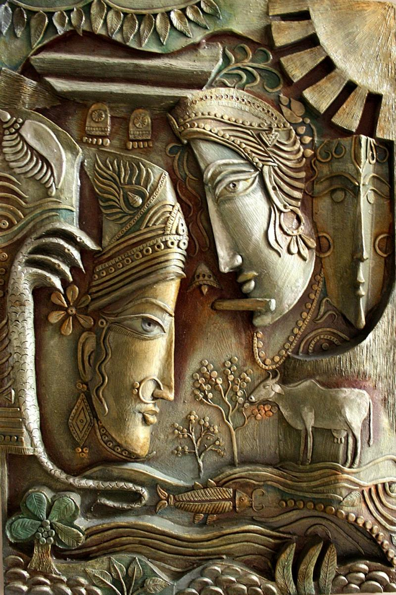 Indian mural art designs crowdbuild for for 3d mural painting